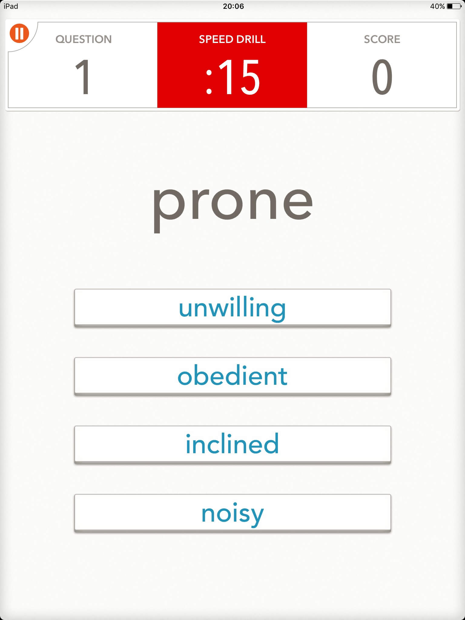 語彙力を伸ばすのにオススメのIOSアプリ「 Quizzitive」|スクリーンショット03