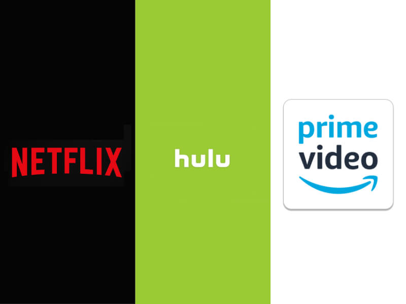 Netflix・Hulu・AmazonPrime